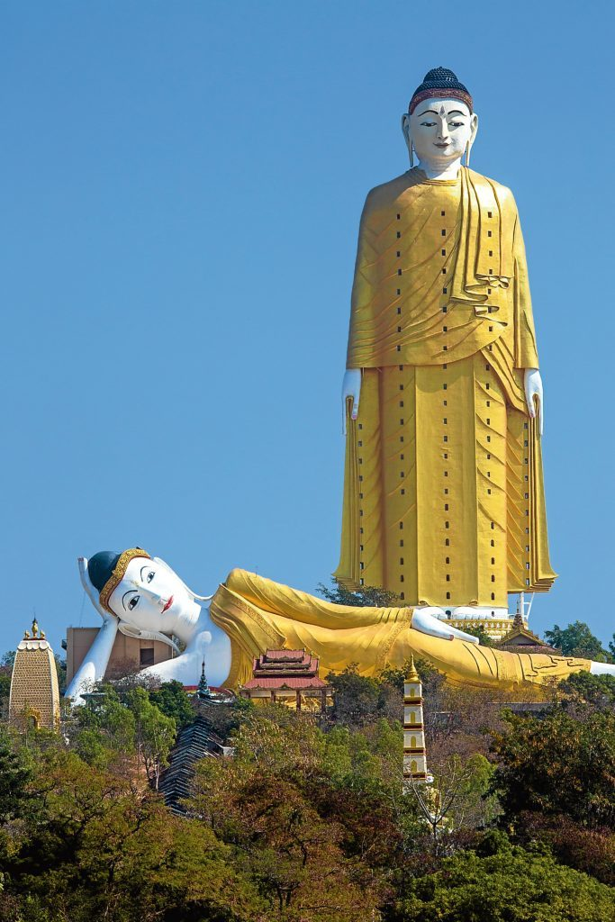 The Laykyun Sekkya Standing Buddha is the tallest Buddha statue in the world (Getty Images)