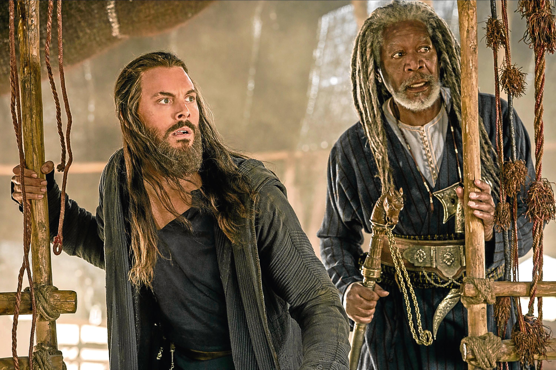 Jack Huston and Morgan Freeman in Ben-Hur (Allstar/PARAMOUNT PICTURES)