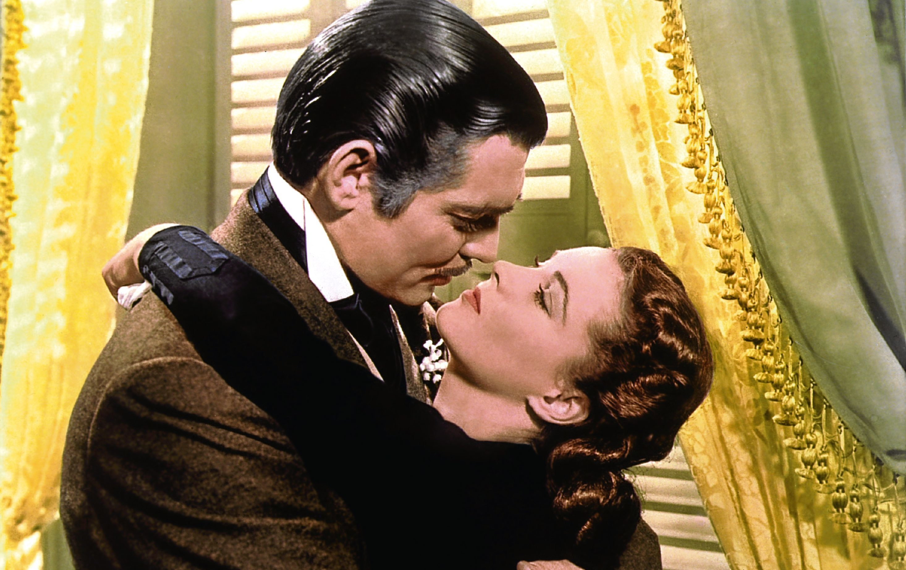 Clark Gable and Vivien Leigh in Gone With the Wind, 1939 (Allstar/MGM)