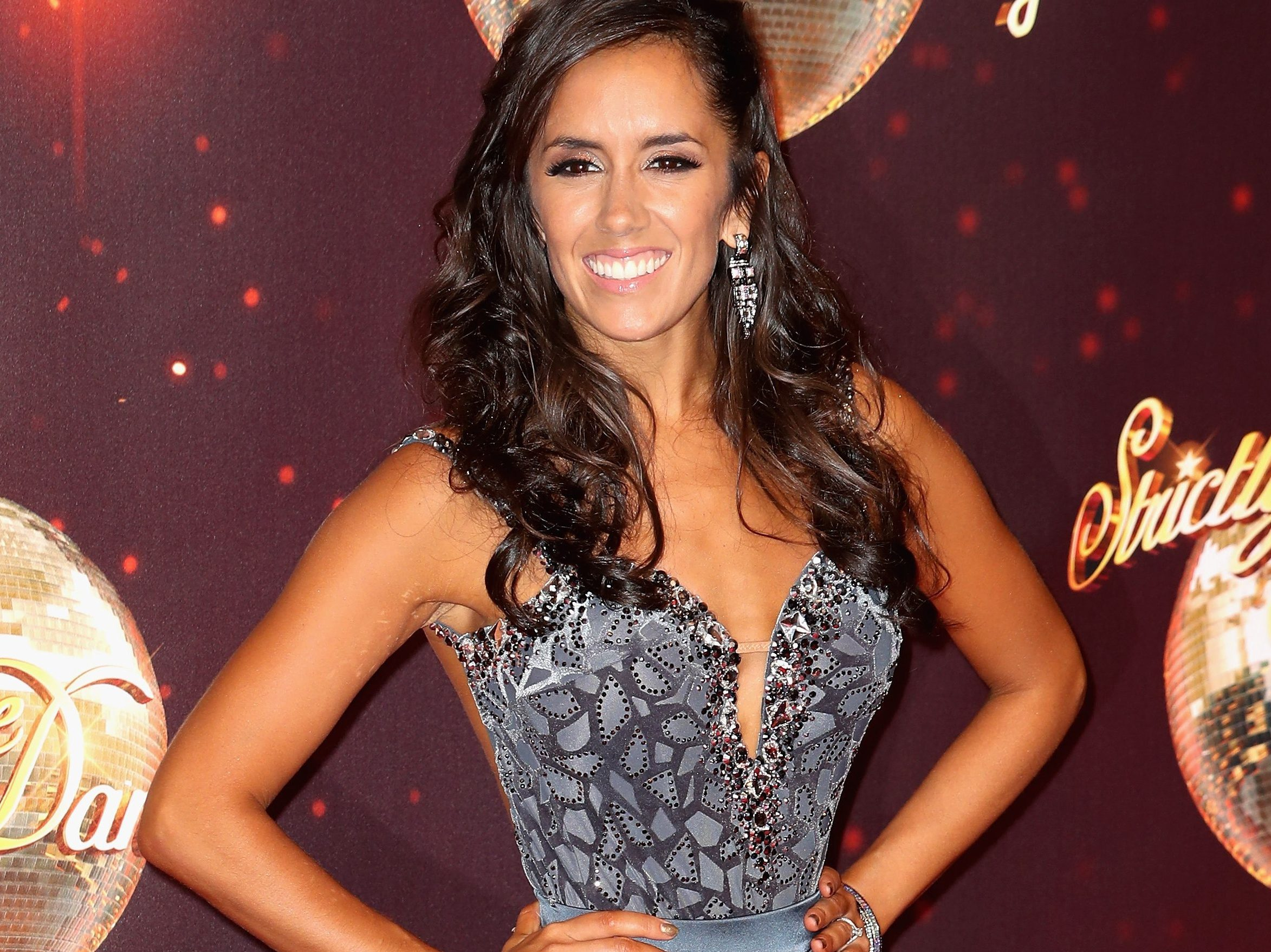 Janette Manrara arrives for the launch of 'Strictly Come Dancing 2016'  (Photo by Chris Jackson/Getty Images)