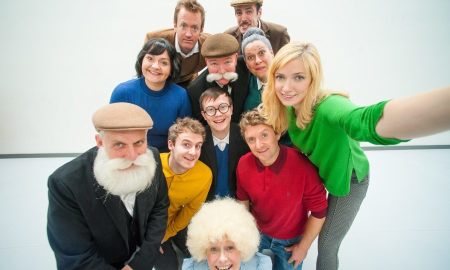The cast of The Broons (David Hutchinson)
