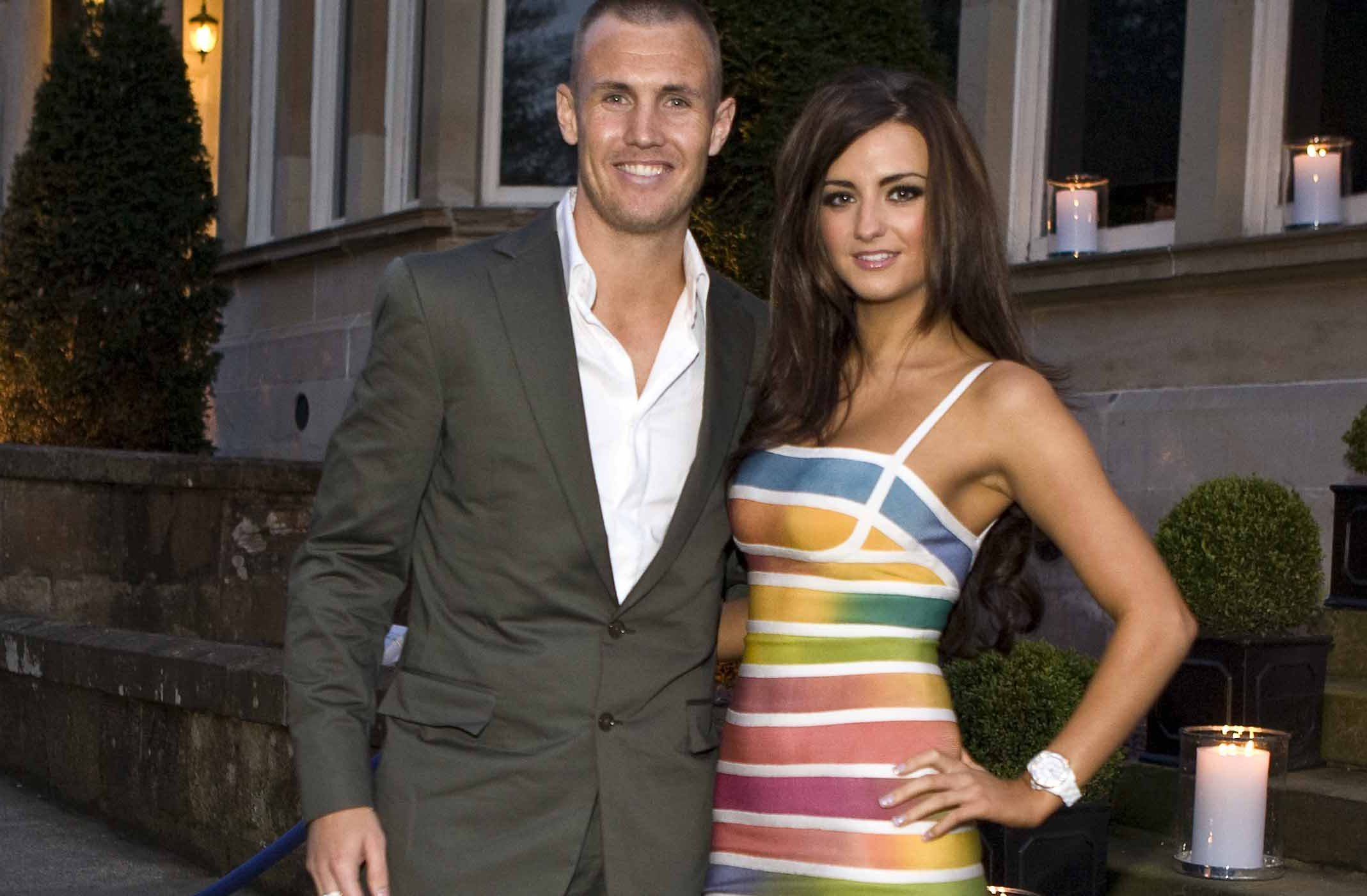 Kenny Miller and wife Laura (Alan Simpson)