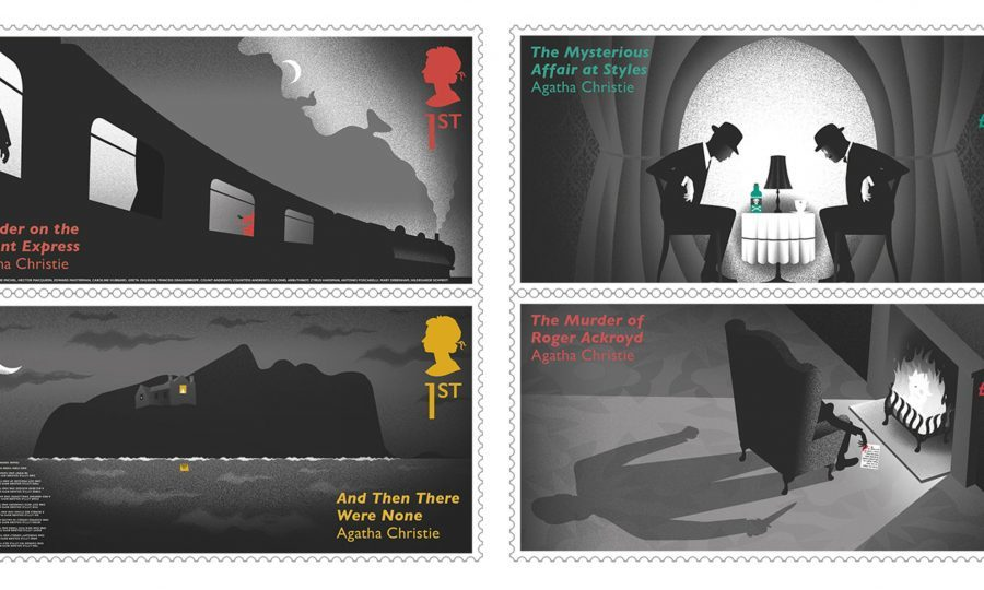 Royal Mail Set To Issue Agatha Christie Centenary Stamps With