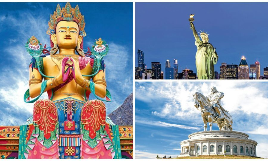 Some of the world's largest statues (Getty Images)