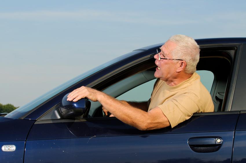 Road rage (Getty)