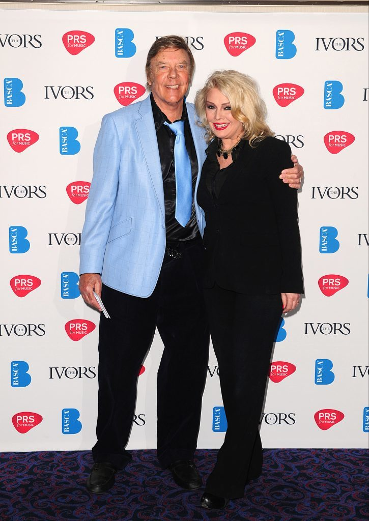 Marty and Kim Wilde (PA Archive)