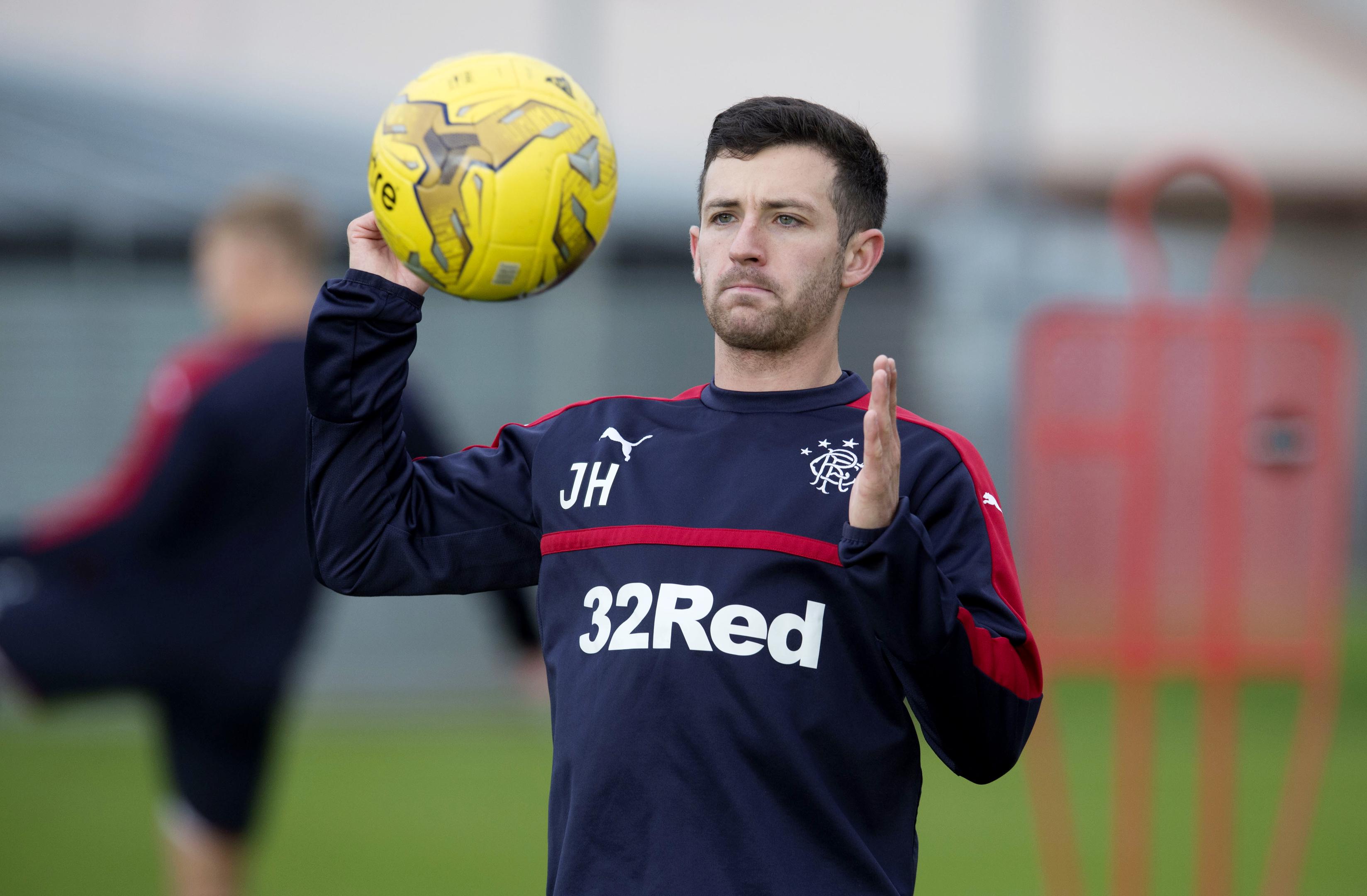 Rangers' Jason Holt (SNS Group / Craig Foy)