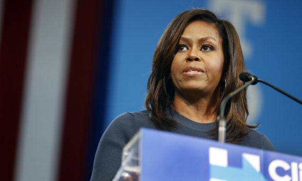First lady Michelle Obama (AP Photo/Jim Cole)