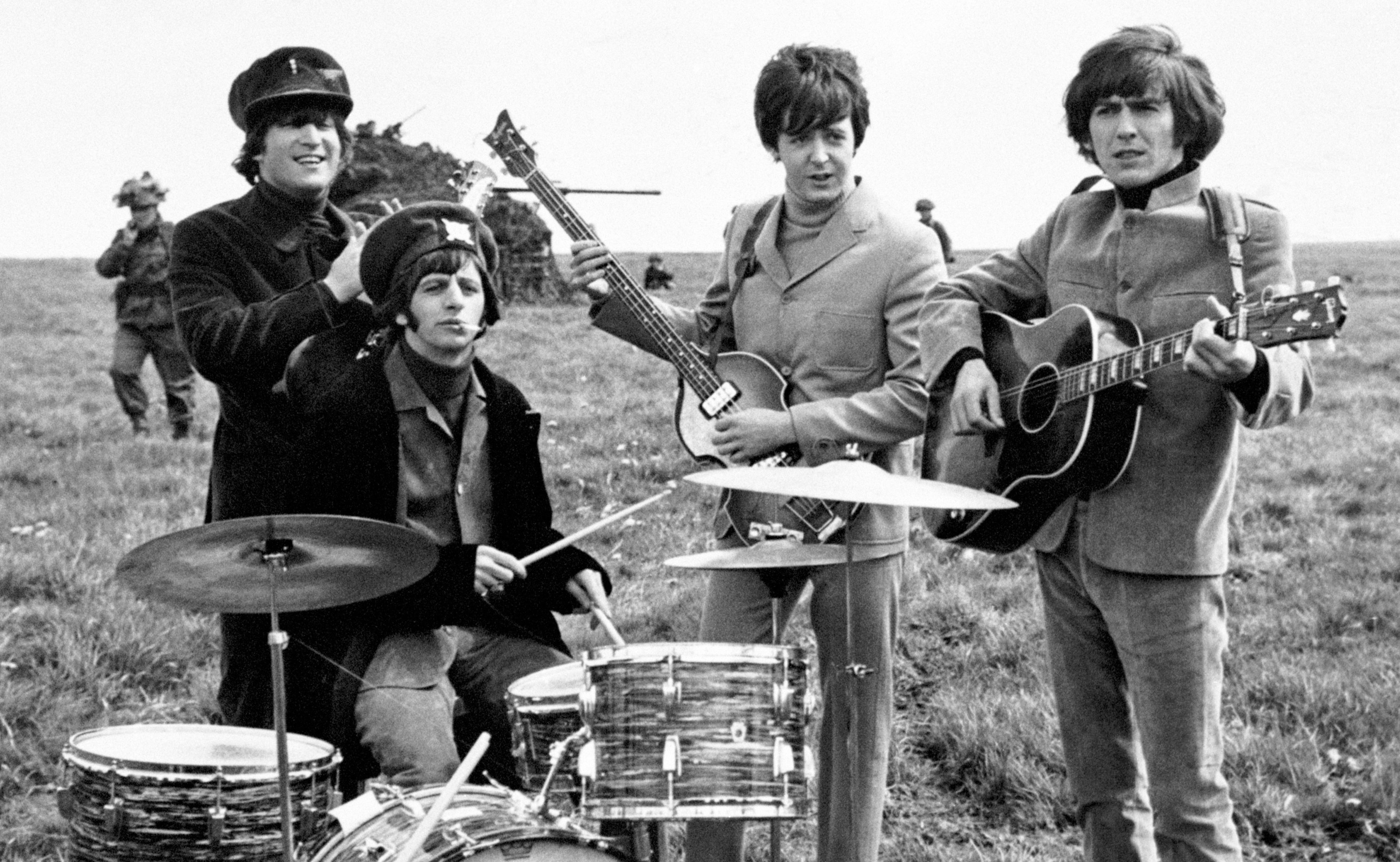 The Beatles (left - right) John Lennon, Ringo Starr, Paul McCartney and George Harrison (PA Photos)