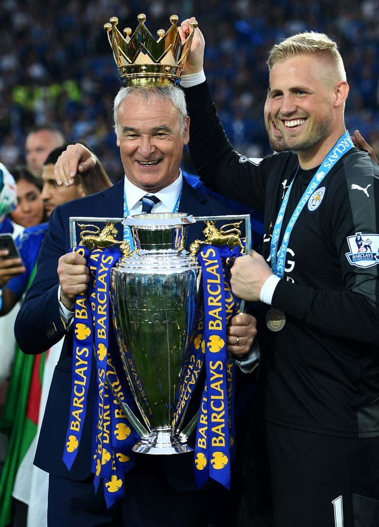 Ranieri led Leicester to the Premier League title (Shaun Botterill/Getty Images)