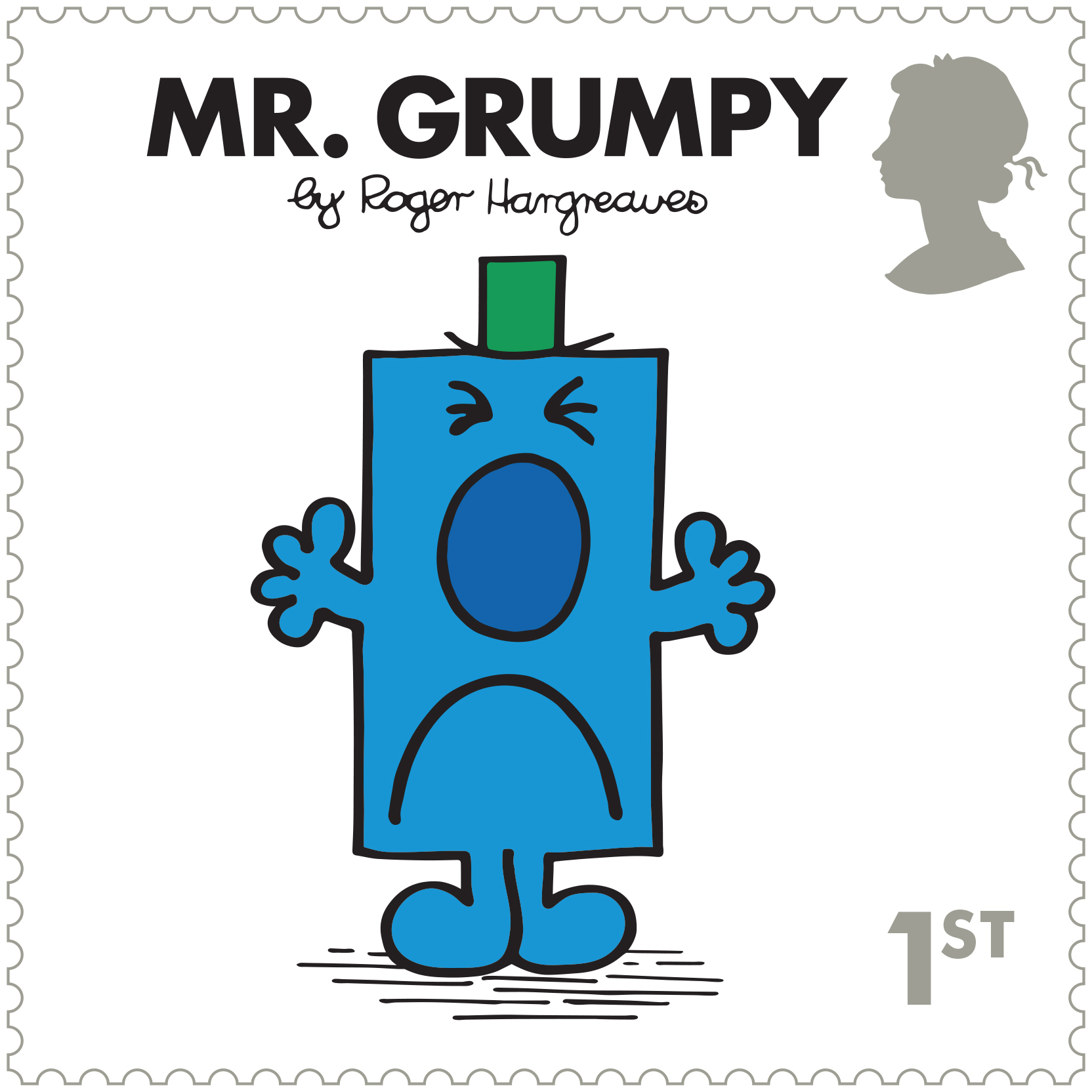 Mr Men and Little Miss stamps - Mr Grumpy (Royal Mail/PA)