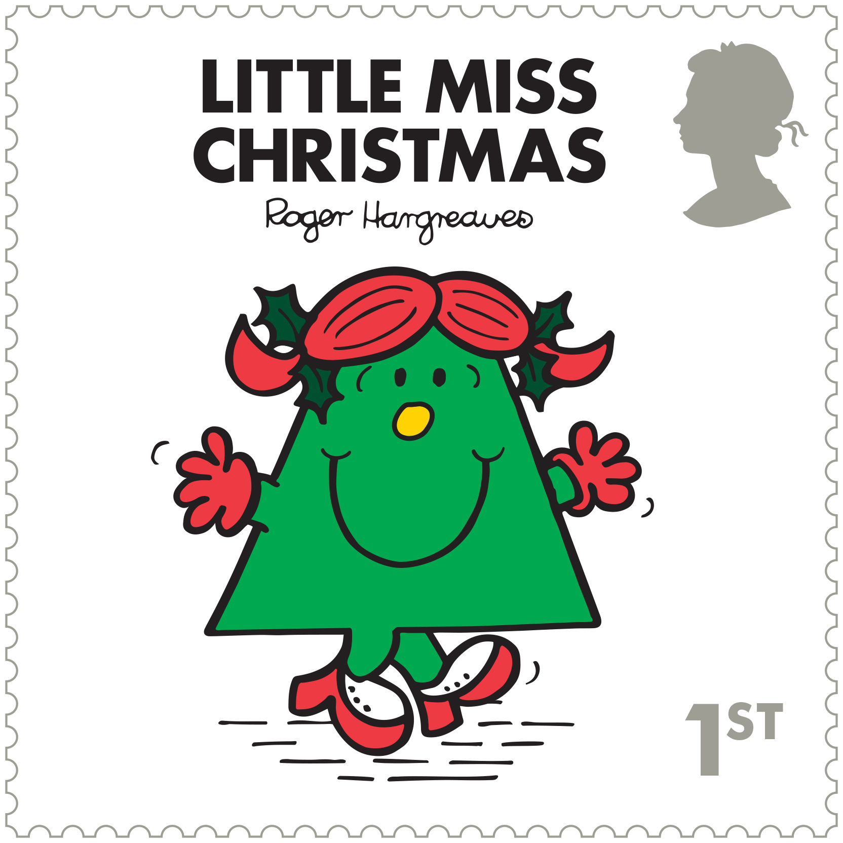 Mr Men and Little Miss stamps - Little Miss Christmas (Royal Mail/PA)