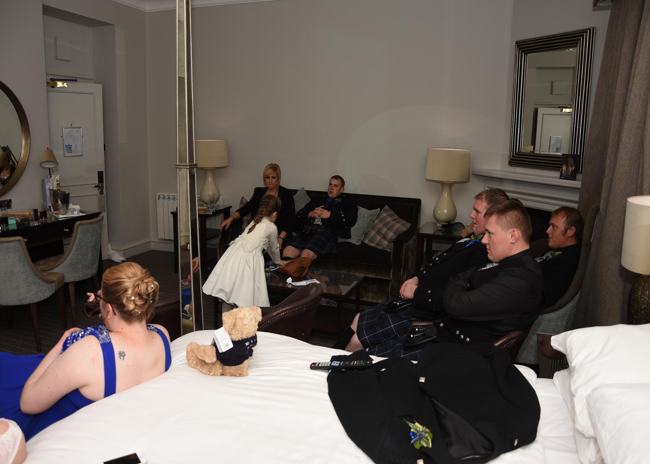 Leanne and Stuart McSherry' wedding (Darren Wyllie Photography)