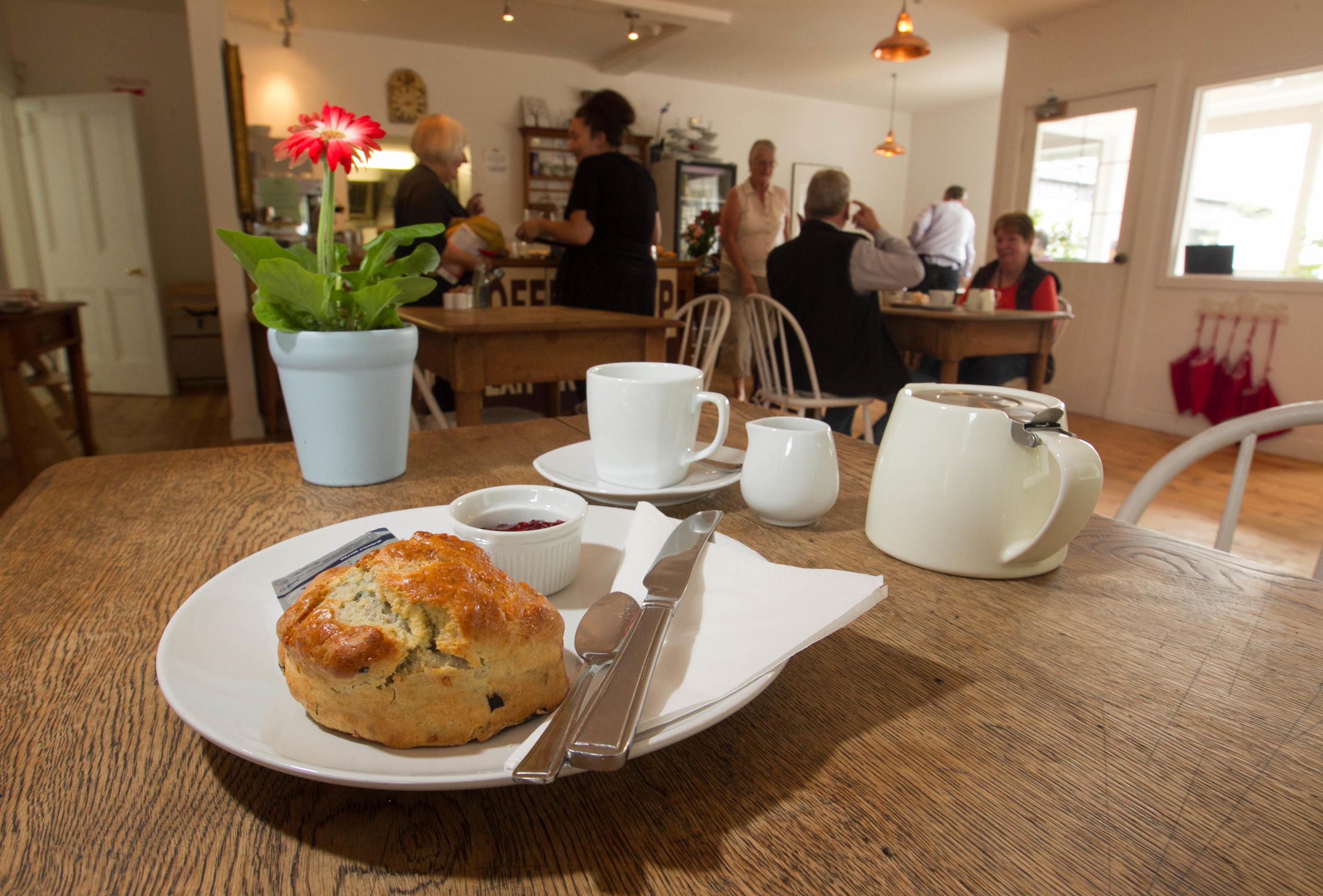 Chestnut Tree coffee shop in Glencarse (Chris Austin/DC Thomson)