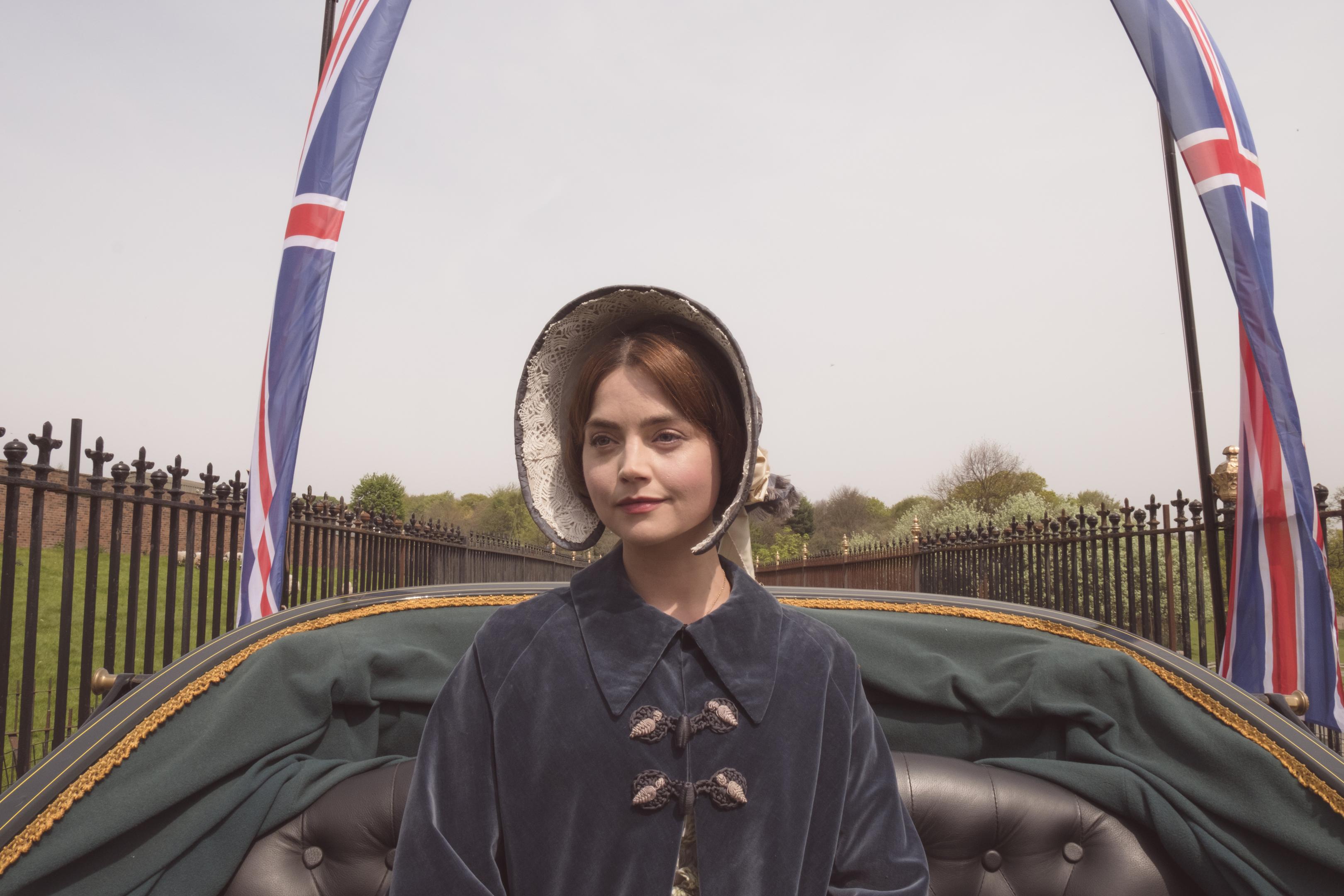 JENNA COLEMAN as Victoria (ITV)