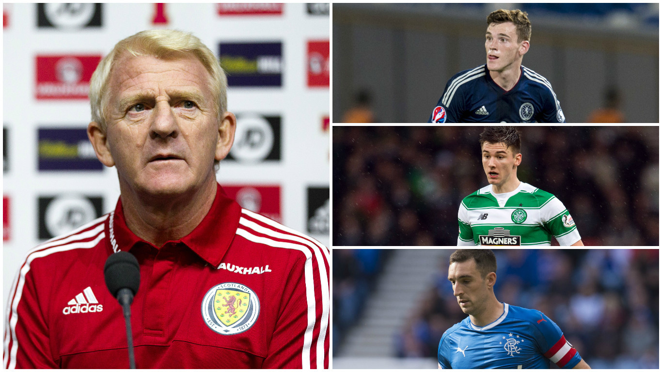 Strachan has options at left back (Andrew Cawley / DC Thomson)