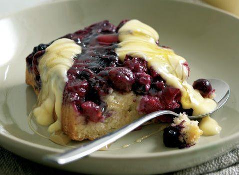 Autumn Berry Traybake Pudding (Aldi)