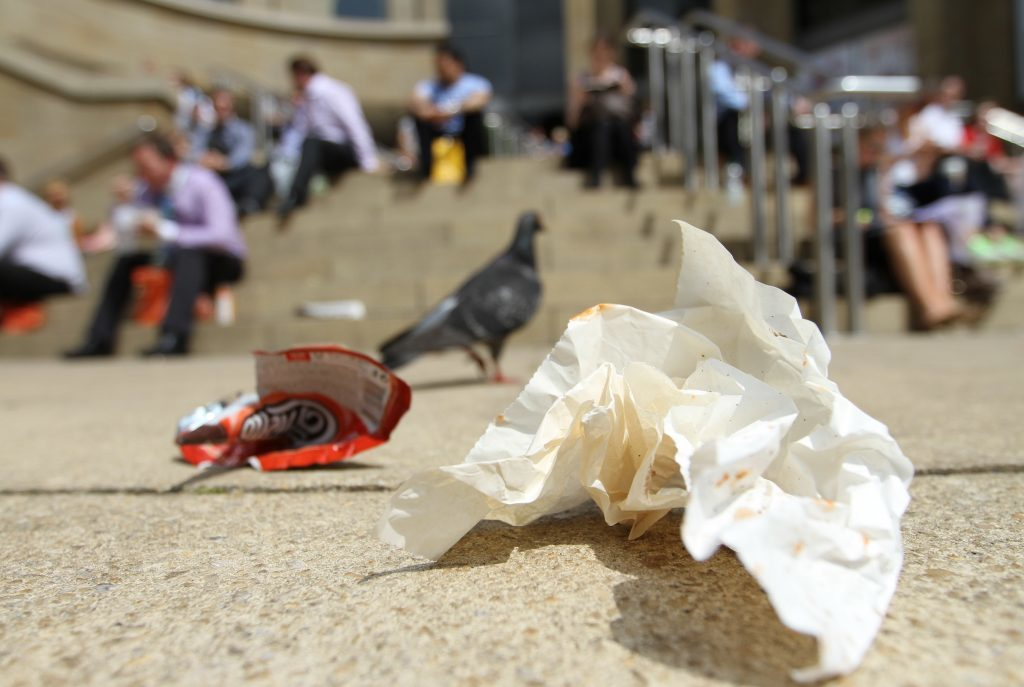 Litter (Andrew Cawley/Sunday Post)