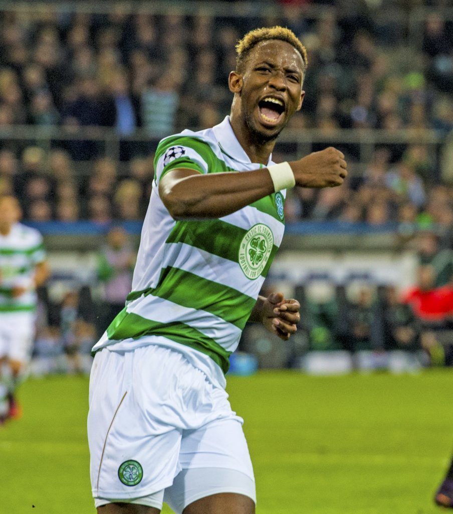 Celtic's Moussa Dembele netted from the spot (SNS Group / Craig Williamson)