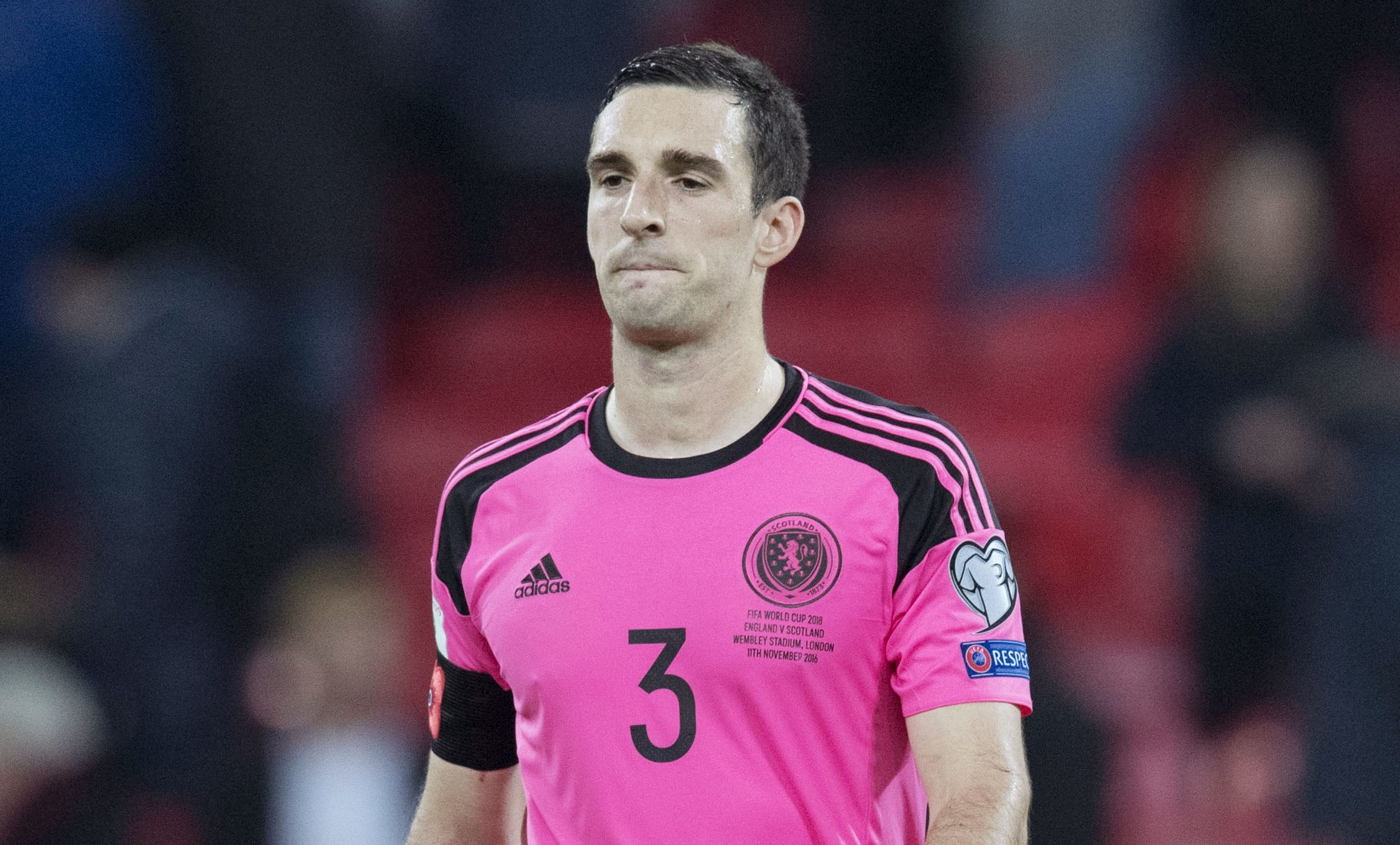 Scotland's Lee Wallace (SNS Group / Alan Harvey)