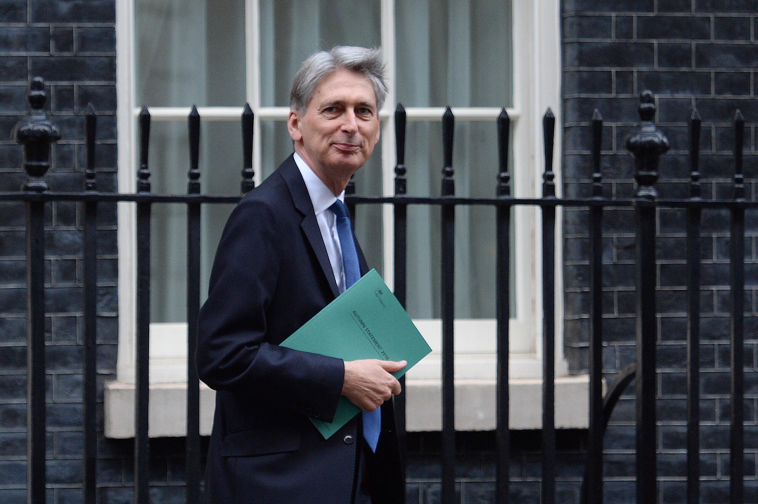 Chancellor Philip Hammond (Stefan Rousseau/PA Wire)