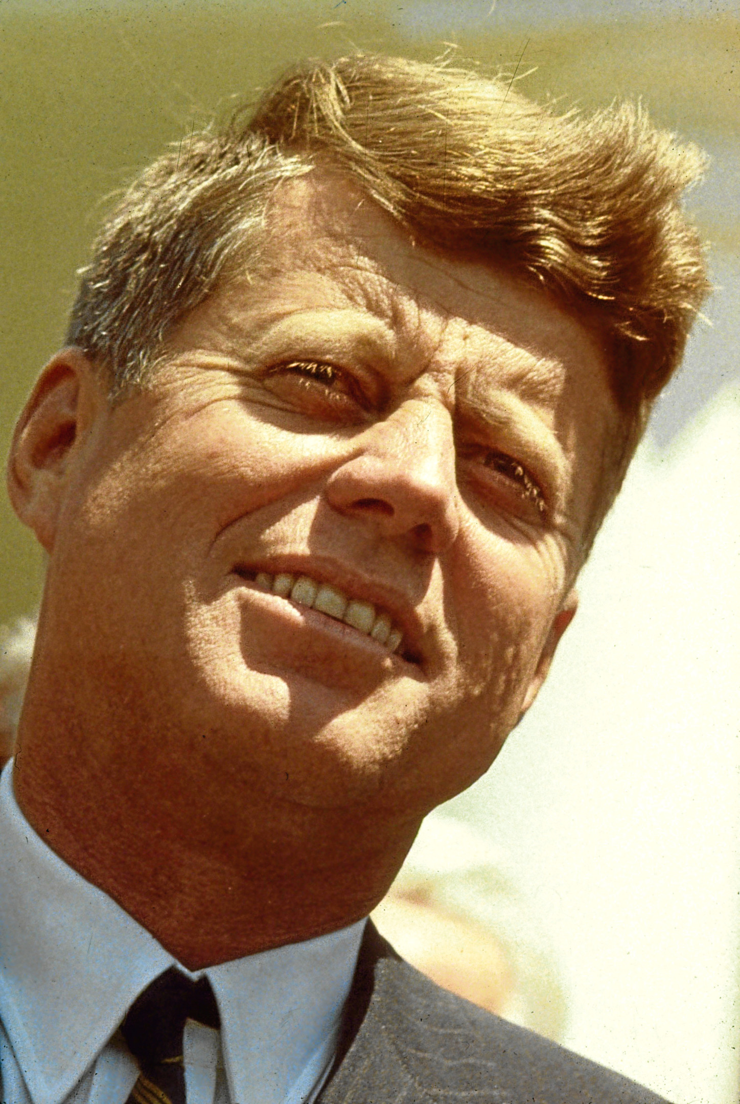 U.S. President John Fitzgerald Kennedy is shown in this 1960 photograph (Photo by Getty Images)