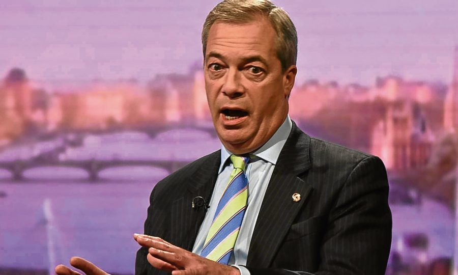 Nigel Farage calls for second referendum on European Union membership
