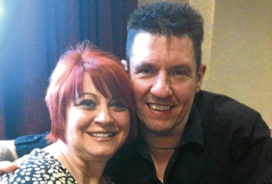 Rachel Parsons with husband Tim