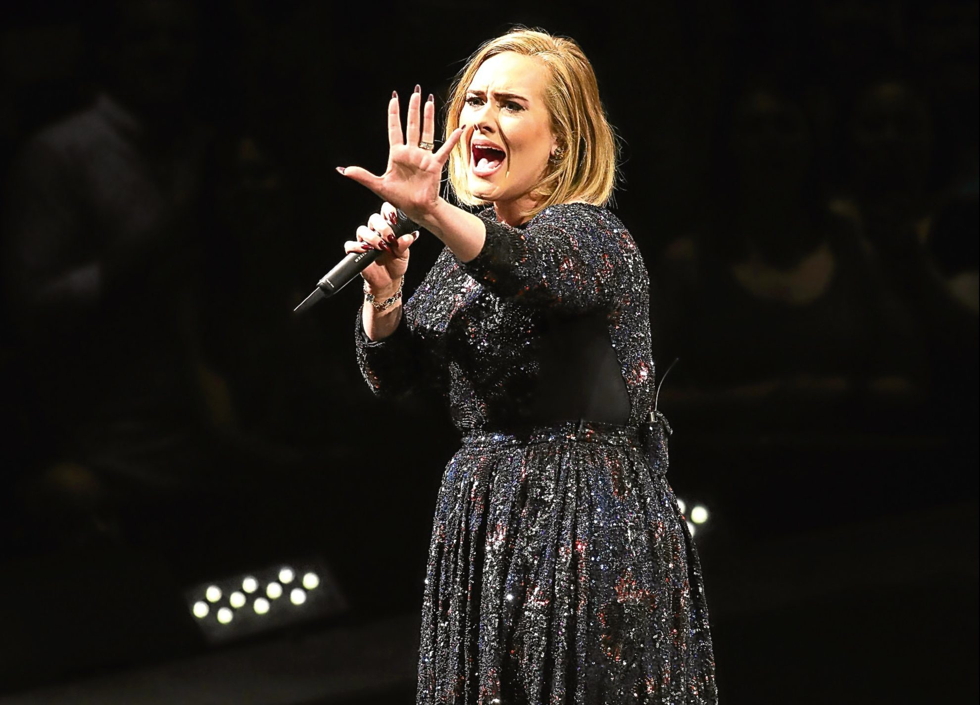 Singer Adele (Photo by Adam Bettcher/Getty Images for BT PR)