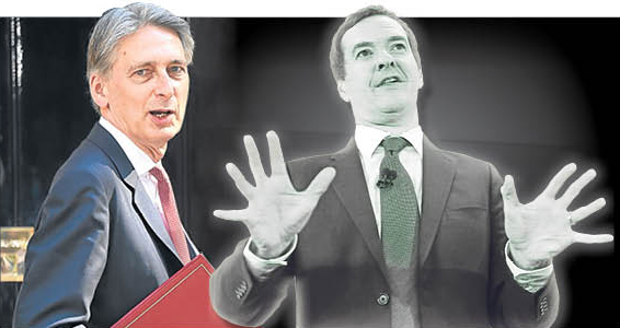 Philip Hammond and the ghost of George Osborne (Sunday Post)