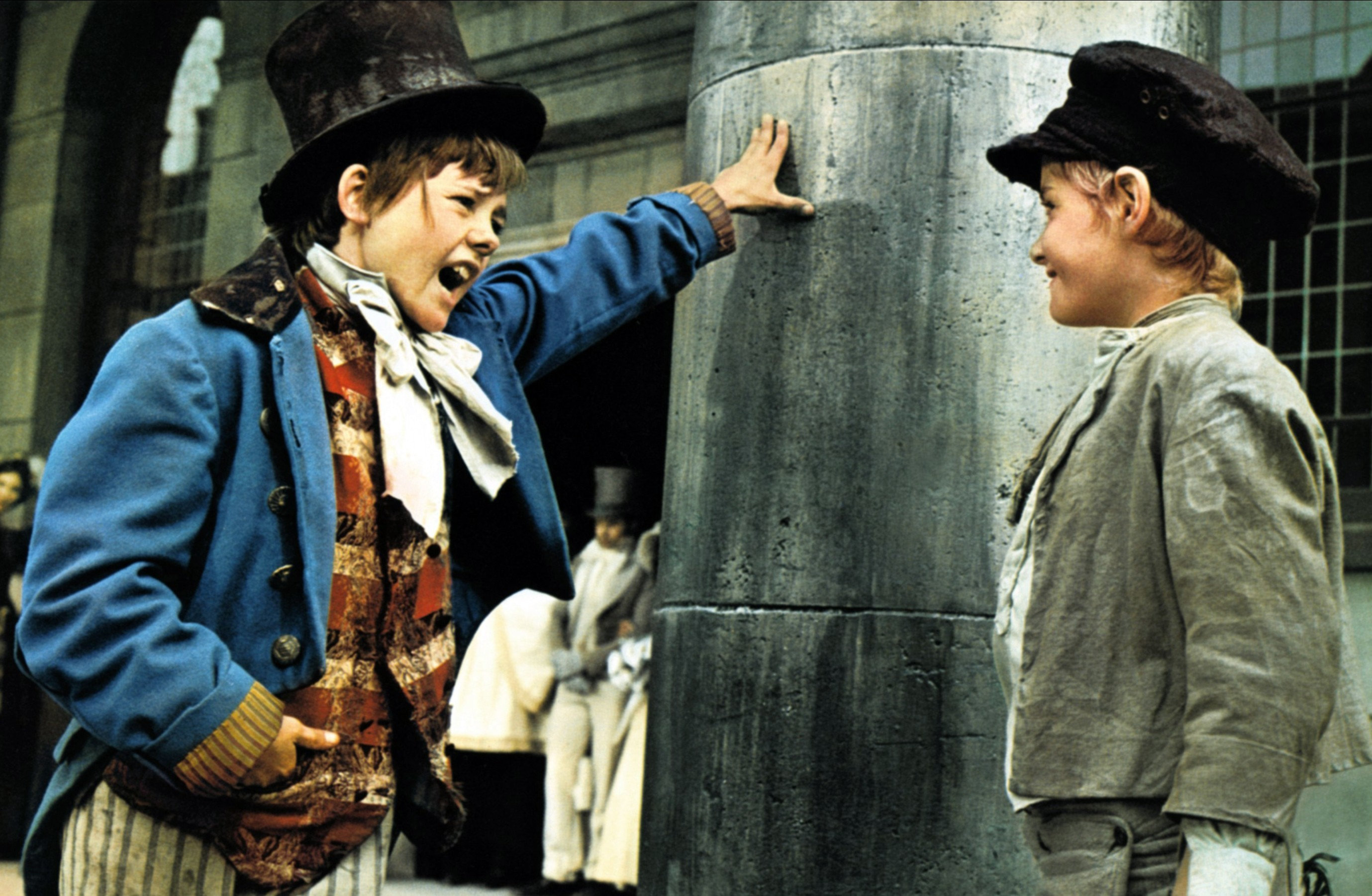Jack Wild (left) as The Artful Dodger (Allstar/ROMULUS)
