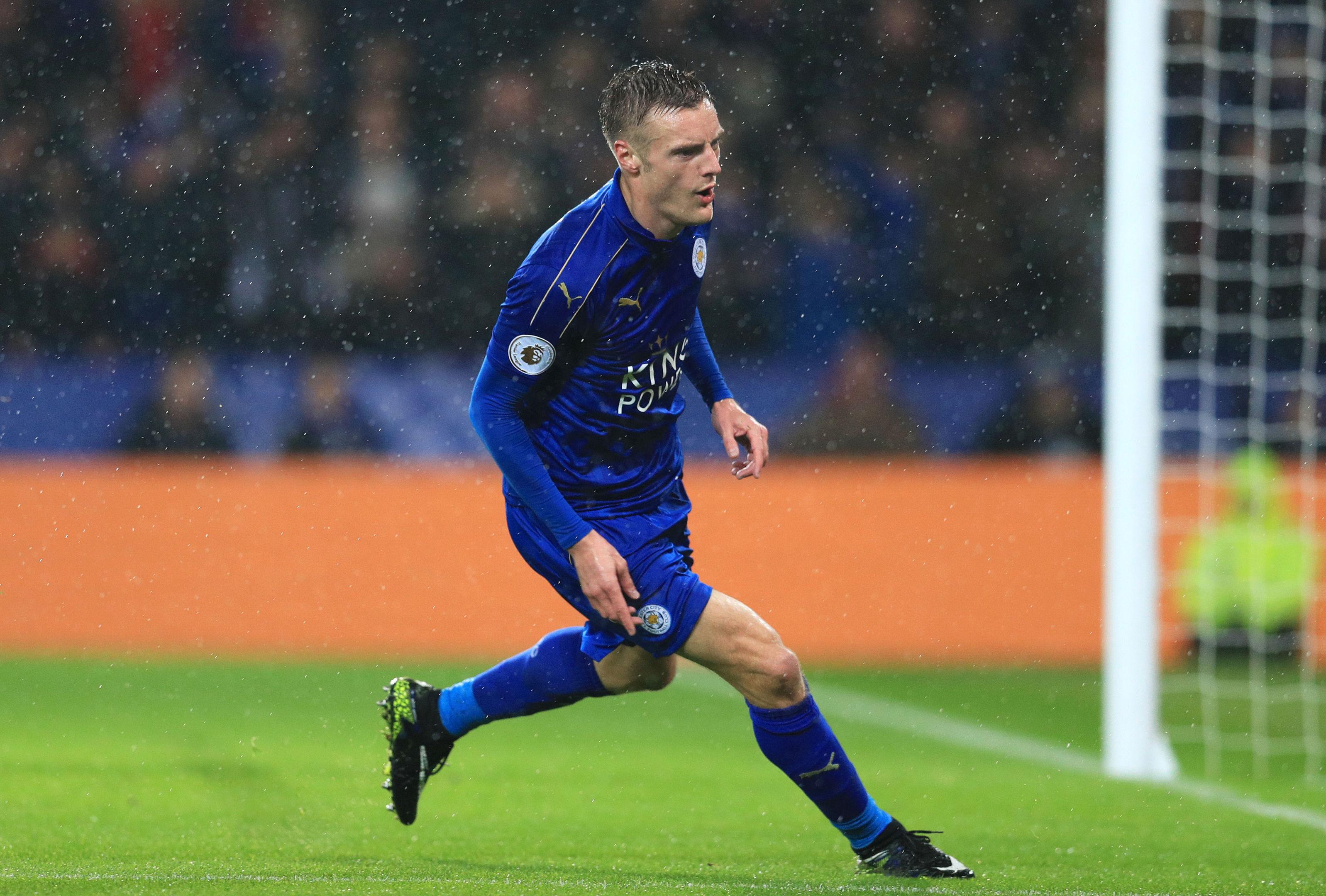 Leicester City's Jamie Vardy (Adam Davy/PA Wire)