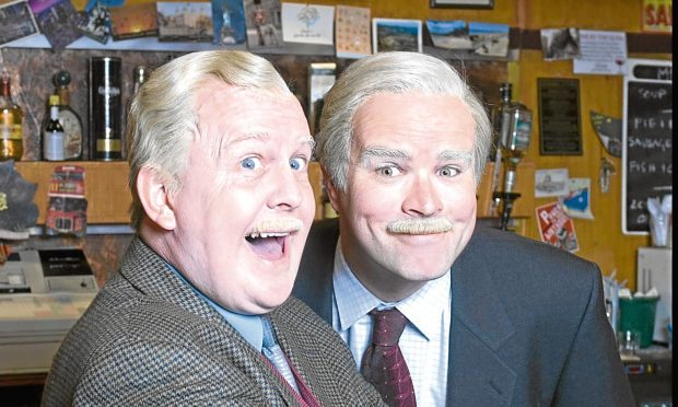 Ford Kiernan and Greg Hemphill (BBC)