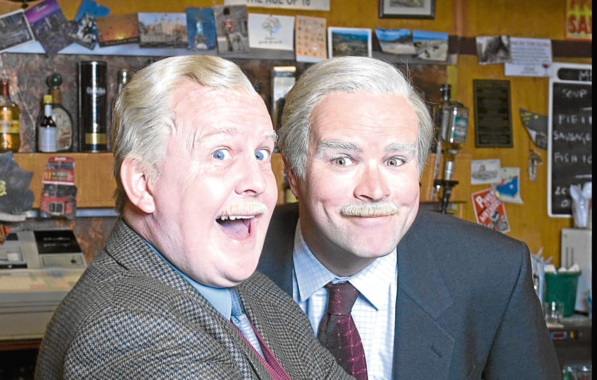 Ford Kiernan and Greg Hemphill (BBC)
