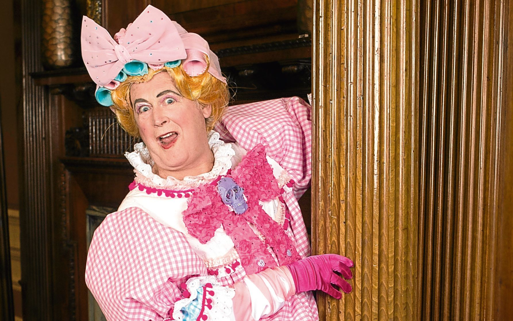Tony Roper plays one of the ugly step-sisters (John Kirkby)
