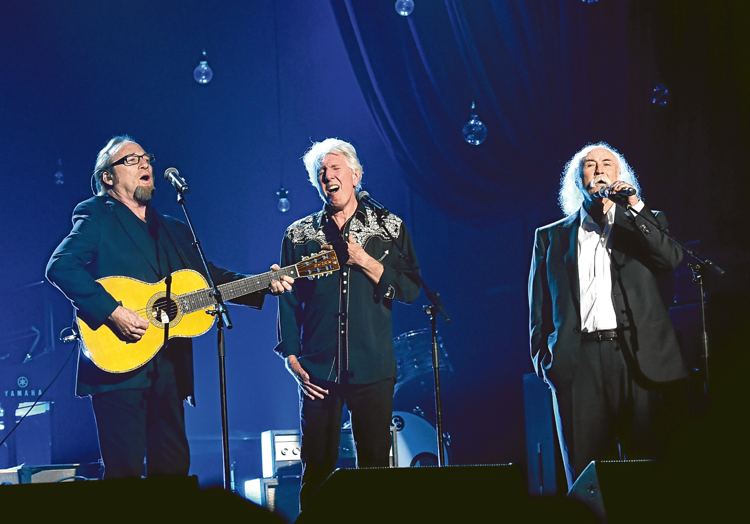 Musicians Stephen Stills, Graham Nash and David Crosby (Larry Busacca/Getty Images for NARAS)