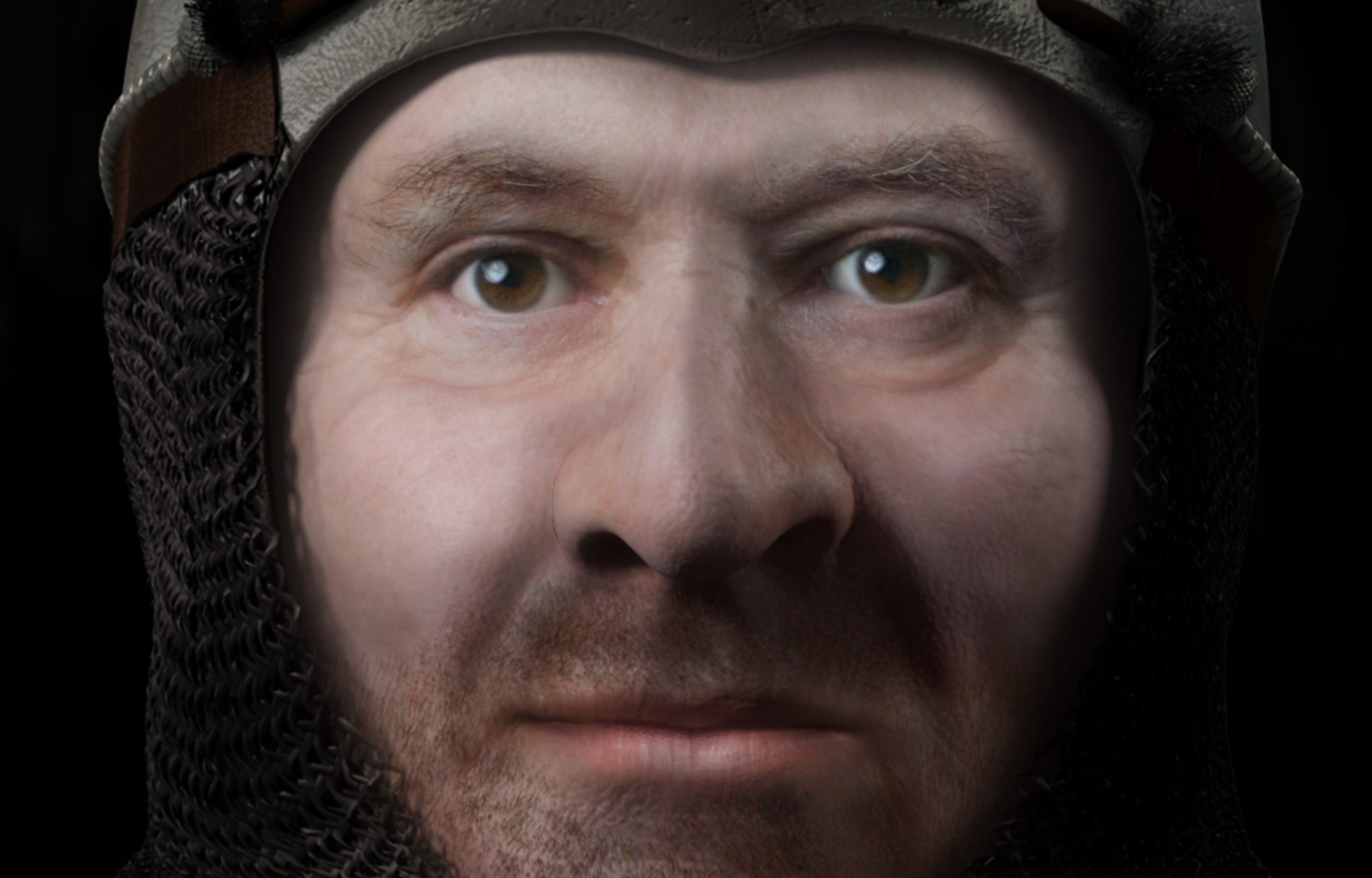 Reconstructed image of Robert the Bruce (FaceLab / John Moores University / University of Glasgow)