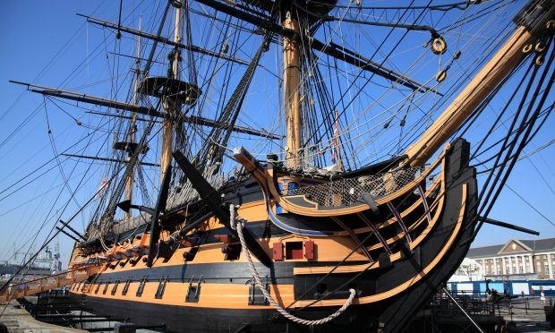 HMS Victory (Getty Images)
