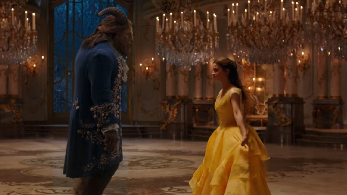 Beauty and the Beast will come to UK cinemas in March (PA)