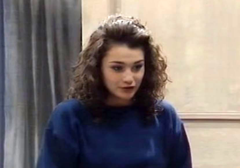 Natalie as Trish McDonald in Take the High Road, 1995