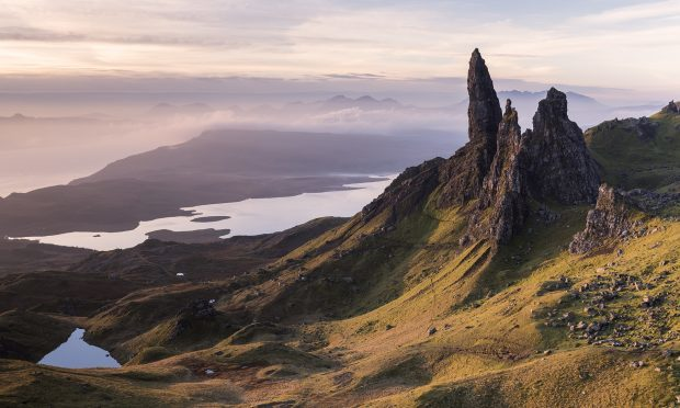 The Old Man of Storr, situated on the Trotternish peninsula of the Isle of Skye, Scotland (Getty Images)