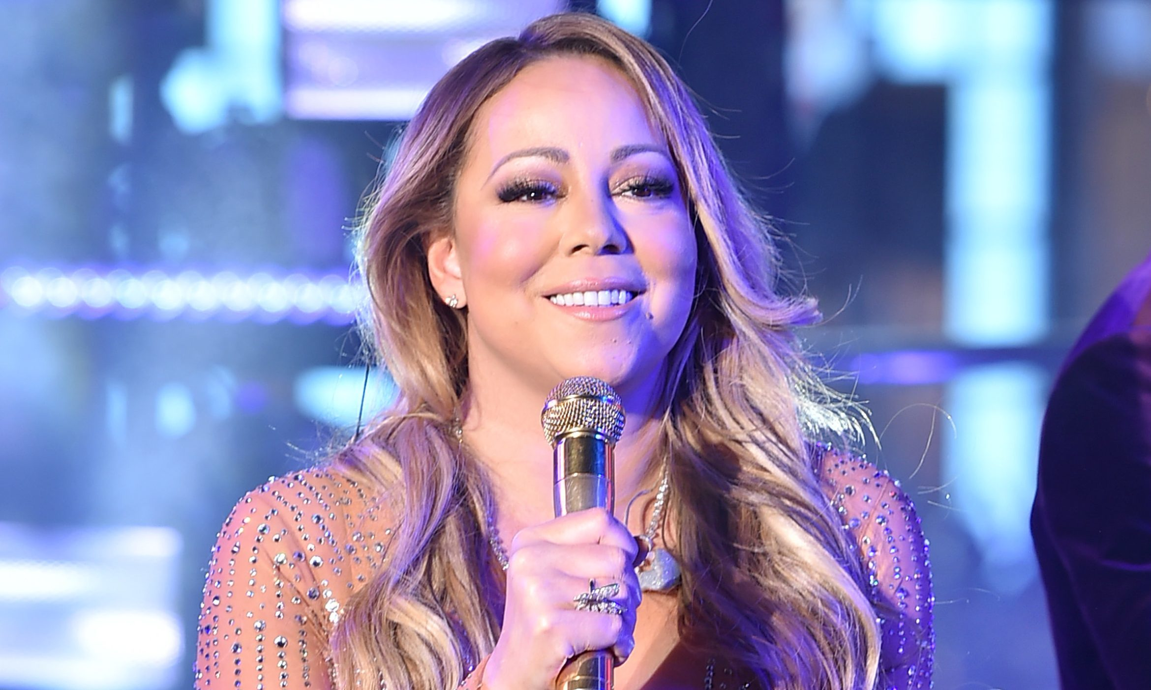 Mariah Carey performs onstage during New Year's Eve 2017 in Times Square  (Theo Wargo/Getty Images)