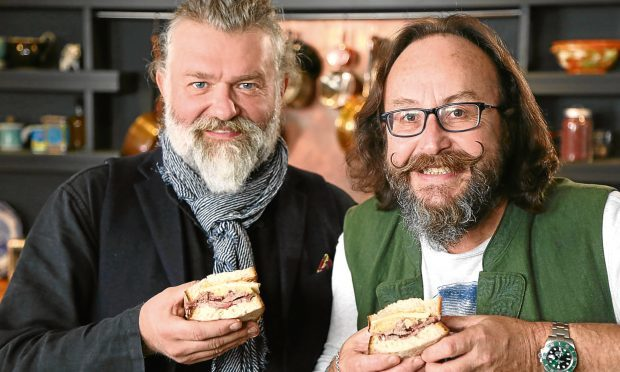 Hairy Bikers Si King (left) and Dave Myer (PA Photo/BBC)