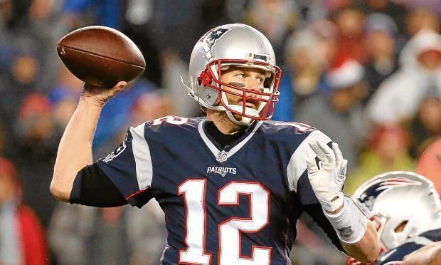 Tom Brady of the New England Patriots (Jim Rogash/Getty Images)