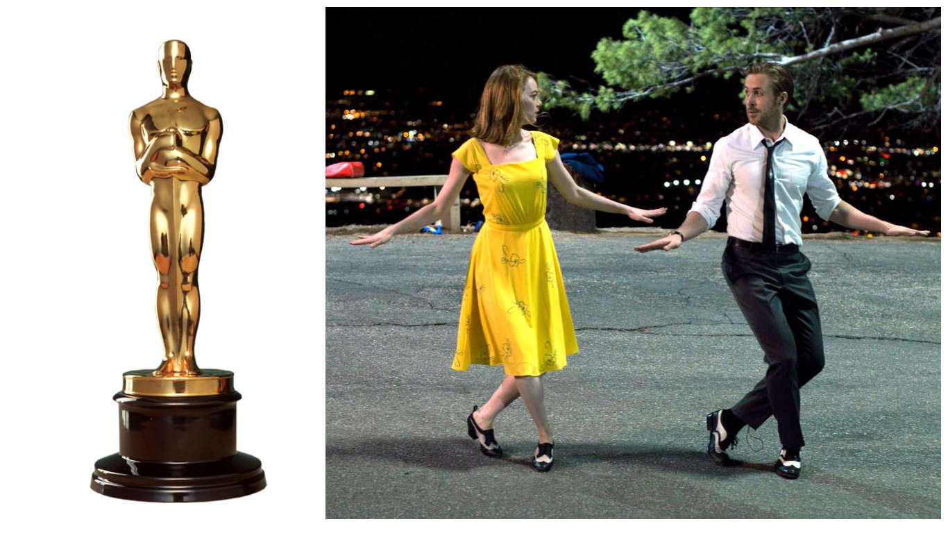 La La Land leads the way at the Oscars including nominations for leading stars Emma Stone and Ryan Gosling