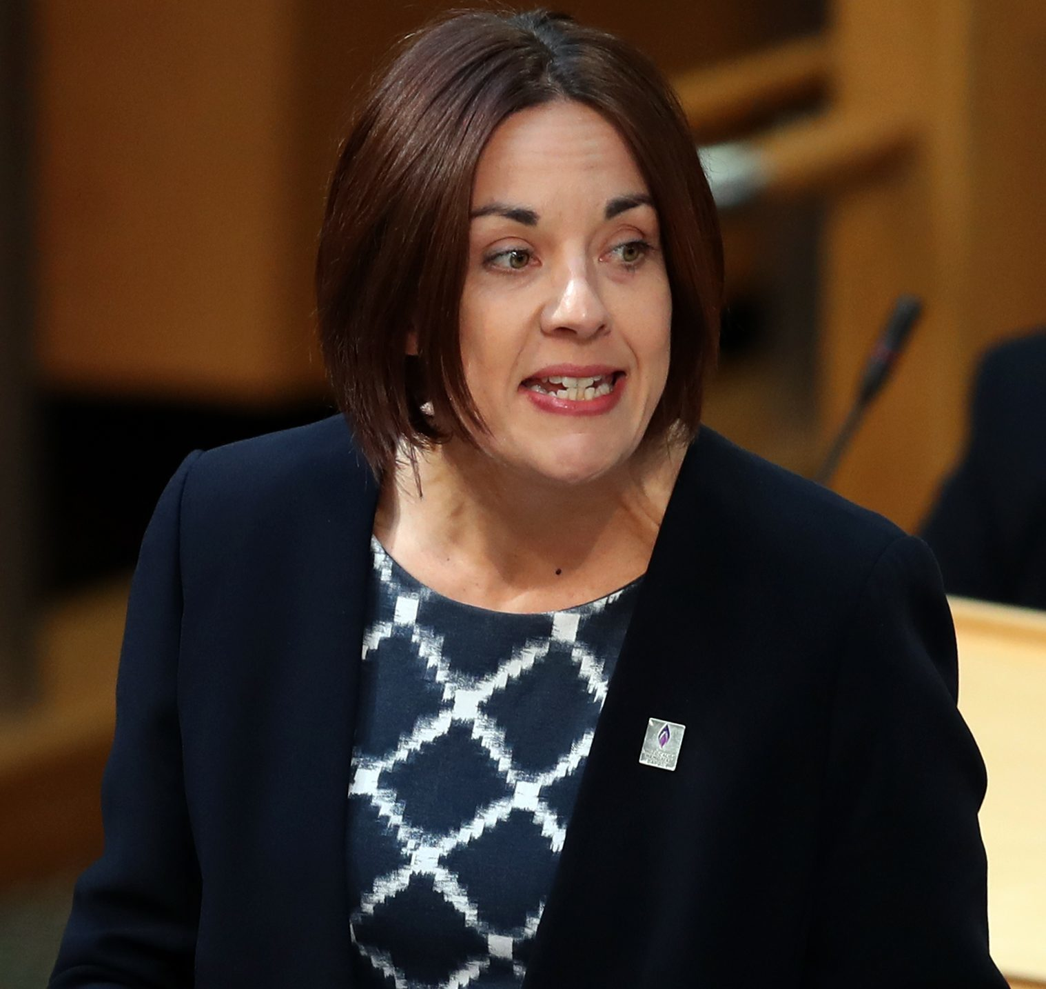 Scottish Labour leader Kezia Dugdale during First Minister's (Jane Barlow/PA Wire)