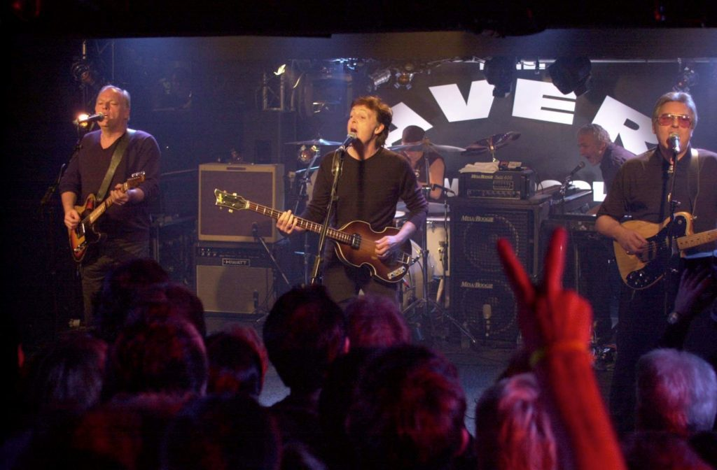 Sir Paul McCartney returned to the Cavern in 1999, where it all began for him, John, George & Ringo.