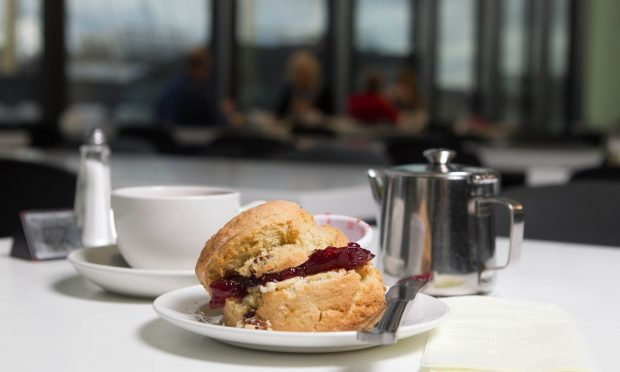 Scone Spy visits the Riverside Museum (Chris Austin / DC Thomson)