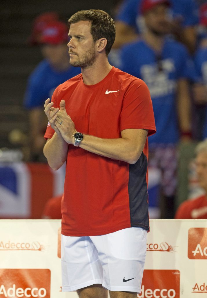 Great Britain Davis Cup captain Leon Smith (SNS Group)