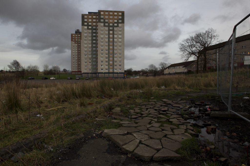 Jordan grew up in the Milton area of Glasgow (Andrew Cawley / DC Thomson)